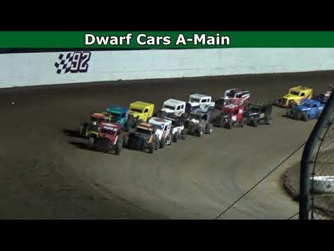 Grays Harbor Raceway, August 21, 2021, Dwarf Cars A-Main - dirt track racing video image