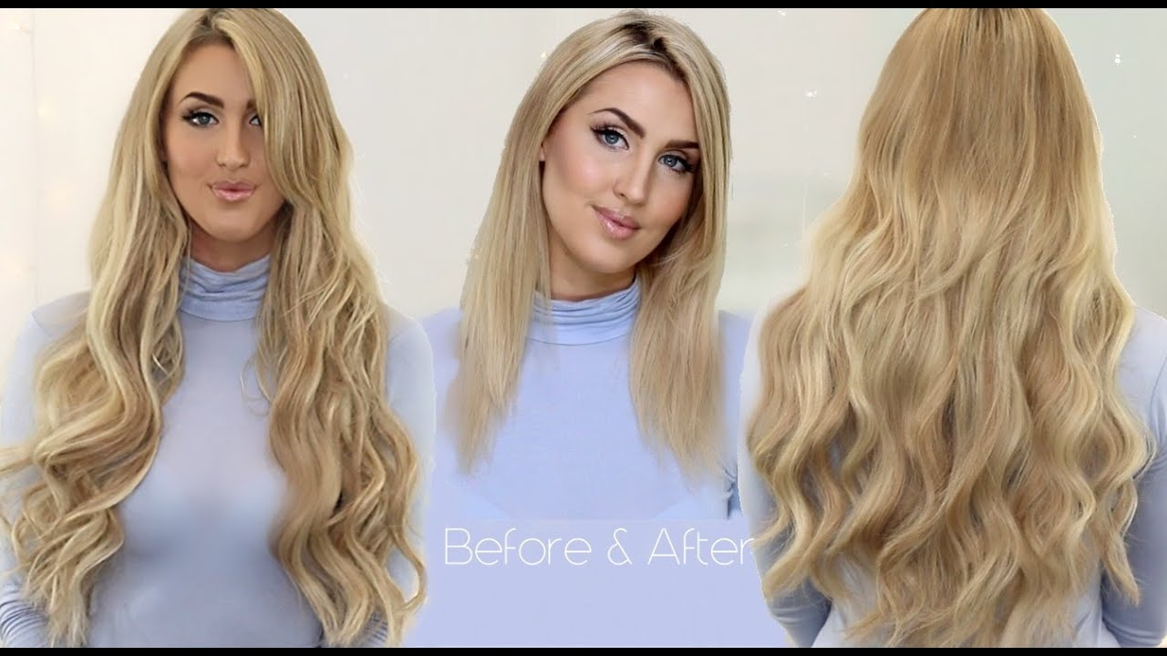 How To Clip In Foxy Locks Seamless Luxurious 24 Extensions
