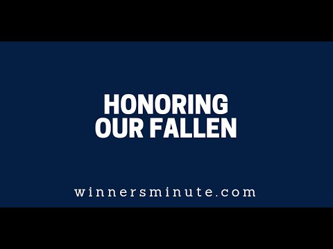 Honoring Our Fallen  The Winner's Minute With Mac Hammond