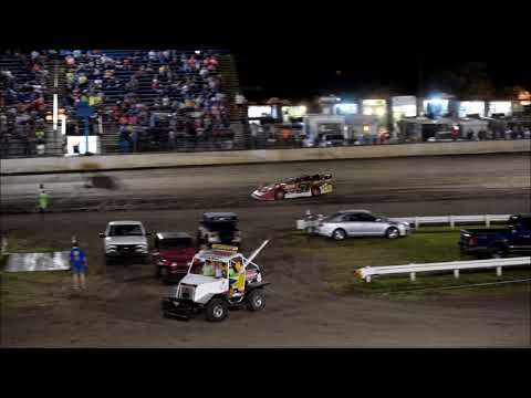 RIVERSIDE INT SPEEDWAY LATE MODELS 5 19 18 - dirt track racing video image