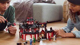 LEGO NINJAGO Legacy Monastery of Spinjitzu 70670 Building Kit, New 2019 (1070 Pieces)