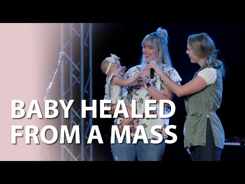 Baby Healed from a Mass!  Healing Testimony