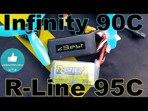 ✔ Тест Аккумуляторов Infinity 90C 1.3A vs Tattu R-Line 95C 1.3A на Квадрокоптере МОНСТРЕ! ) - UClNIy0huKTliO9scb3s6YhQ