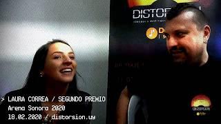 Entrevista a Laura Correa post show en Arena Sonora 2020 (18.02.2020)