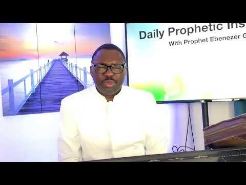 Prophetic Insight September 2,2021