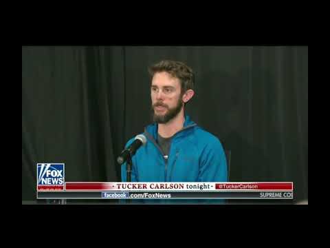 Man kills Mountain Lion with bare hands - Tucker Carlson 2/15/19