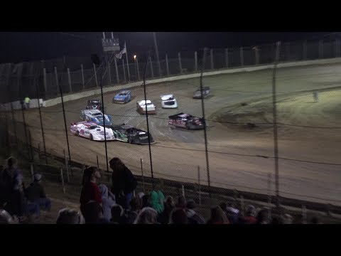 Moler Raceway Park | 10/13/17 | Late Models | Feature - dirt track racing video image