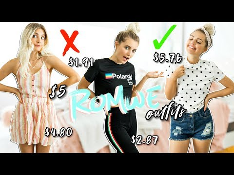 I Wore $5 Romwe Outfits For a Week | Aspyn Ovard - UCR1EMxu9anmg7DhJBxNUbsA