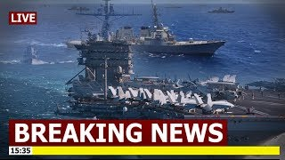 Breaking: U.S. Deployed Aircraft Carrier In South China Sea Amid Escalating Trade Tension