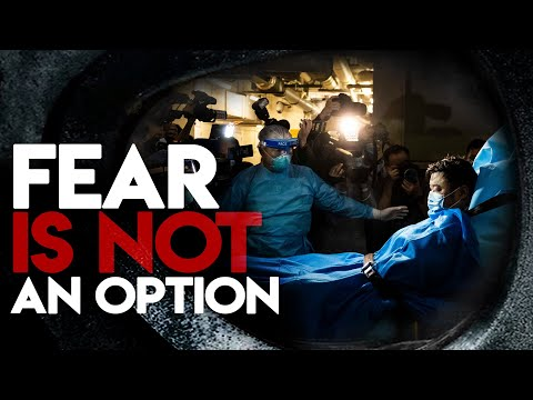 FEAR IS NOT AN OPTION! - For We Walk By Faith and Not by Sight - Carter Conlon