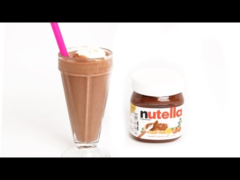Ultimate Nutella Milkshake - Laura Vitale - Laura in the Kitchen Episode 902 - UCNbngWUqL2eqRw12yAwcICg