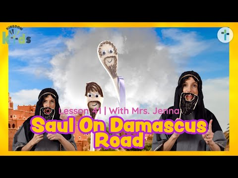 Saul On Damascus Road  Sojourn Kingdom Kid's  Sunday Morning Lesson  Sojourn Church