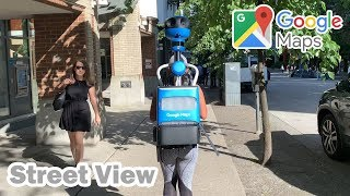Google Maps Camera Walking