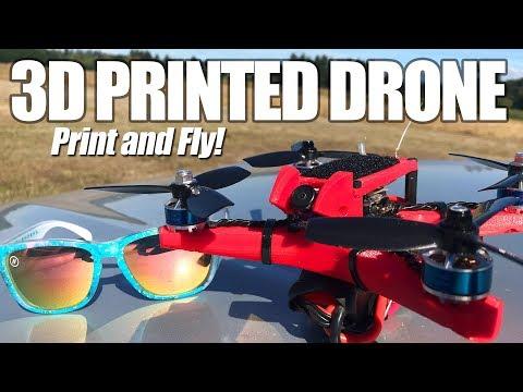 3D PRINTED RACING DRONE - Can it rip balls?  - UCwojJxGQ0SNeVV09mKlnonA