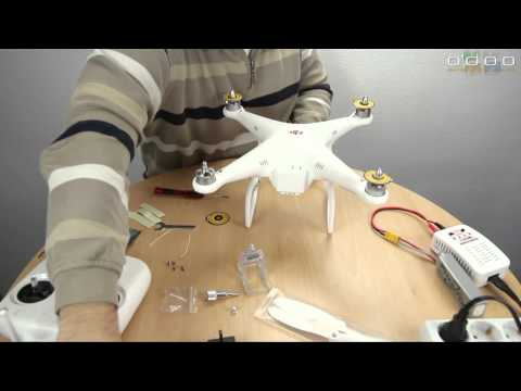 DJI Phantom #02 - Quadrokopter Zusammenbau - UCfV5mhM2jKIUGaz1HQqwx7A