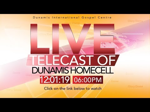DUNAMIS HOME CHURCH LIVE BROADCAST  (2019 GREATER GLORY FAST DAY 6)