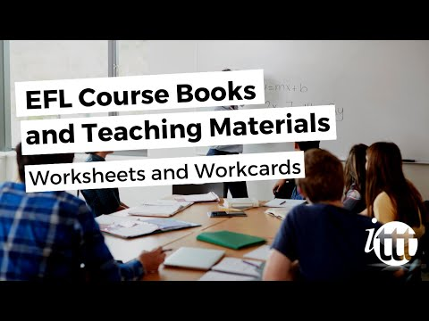 Coursebooks and materials - Worksheets and workcards