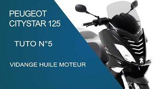 Cambio olio Peugeot Satelis 125