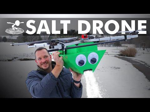 Giant RC Salt Spreading Drone - UC9zTuyWffK9ckEz1216noAw