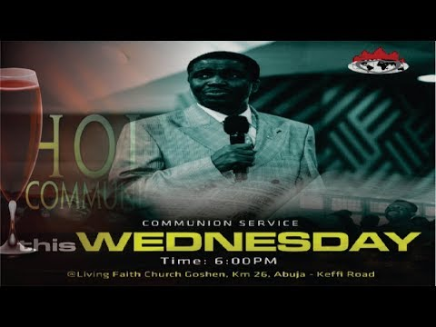 MIDWEEK COMMUNION SERVICE - MARCH 20, 2019