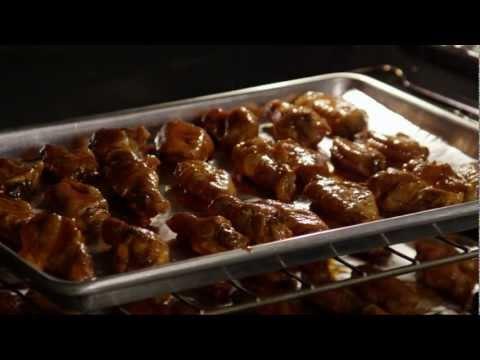 How to Make Baked Buffalo Chicken Wings | Chicken Recipe | AllRecipes - UC4tAgeVdaNB5vD_mBoxg50w