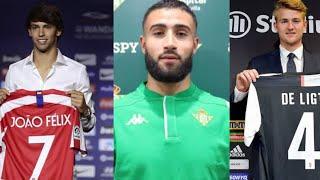 Who Is The Signing Of The Summer | FT : De Ligt, João Felix,Nabil Fekir