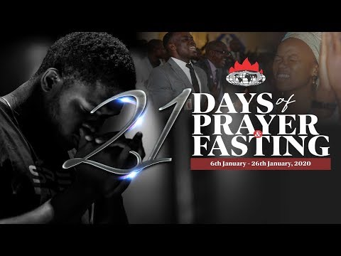 DAY 8: PRAYER AND FASTING GATEWAY TO BREAKING LIMITS - JANUARY 13, 2020