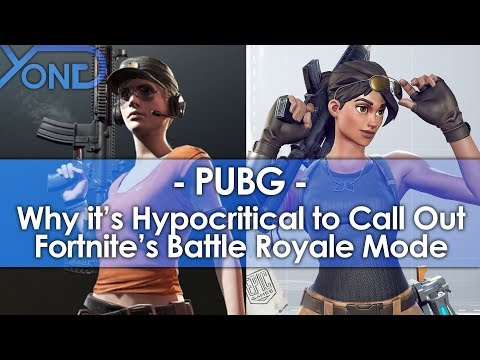 Why it's Hypocritical for PUBG Devs to Call Out Fortnite's Battle Royale Mode - UCiDJtJKMICpb9B1qf7qjEOA
