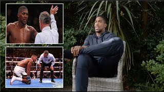 ANTHONY JOSHUA STATES THE REFEREE CONFUSED HIM AND STOPPED THE FIGHT TOO EARLY!!