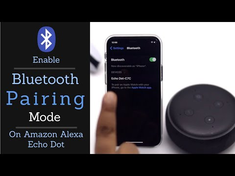 How to Put Amazon Echo Dot in Pairing Mode