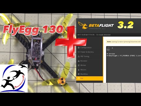 KingKong FlyEgg 130 upgrade to Betaflight 3.2 and Flight Test Number 2 - UCsert8exifX1uUnqaoY3dqA