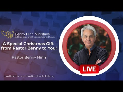A Special Christmas Gift from Pastor Benny to You!
