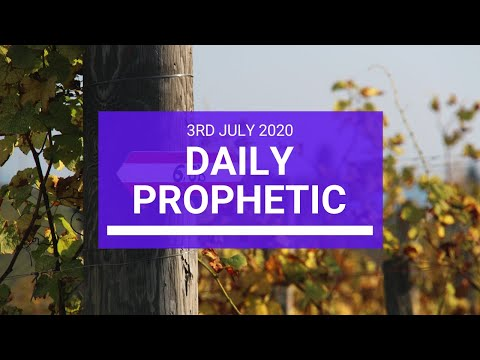 Daily Prophetic 3 July 2020 8 of 10