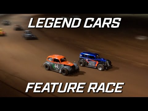 Legend Cars: A-Main - Maryborough Speedway - 25.09.2021 - dirt track racing video image