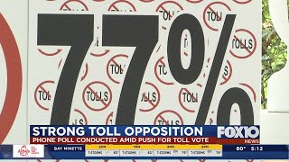Local businessman conducts toll poll