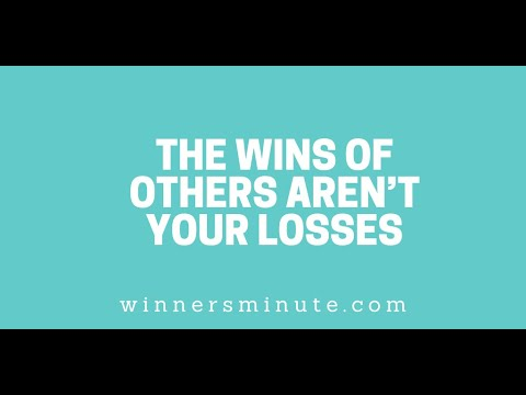 The Wins of Others Arent Your Losses // The Winner's Minute With Mac Hammond