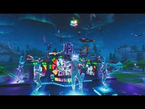 Marshmello Holds First Ever Fortnite Concert Live at Pleasant Park - UCEdvpU2pFRCVqU6yIPyTpMQ