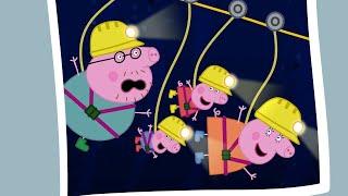 Peppa Pig Full Episodes - Caves - Cartoons for Children