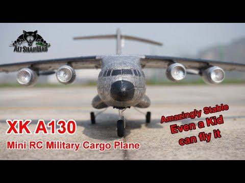 XK A130 Mini RC Y20 RC C17 RC Military Cargo Plane - UCsFctXdFnbeoKpLefdEloEQ