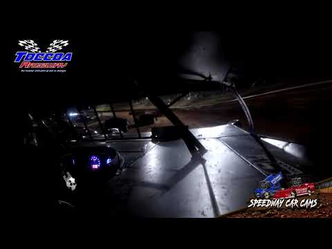 #22 Tucker Anderson - 602 Late Model - 9-5-21 Toccoa Raceway - In-Car Camera - dirt track racing video image
