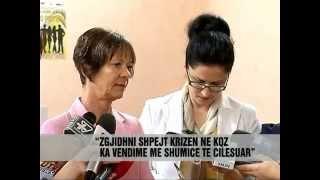 ORA NEWS raporton mbi ushtrimin e votimit - vizita Znj.Lefterie Luzi (Lleshi)