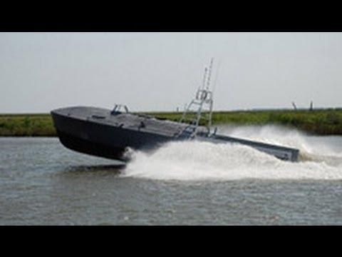Mỹ trình diễn tàu do thám không người lái tên gọi là CUSV