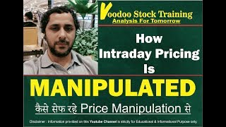 How Intraday Pricing is Manipulated | कैसे सेफ रहे Price Manipulation से