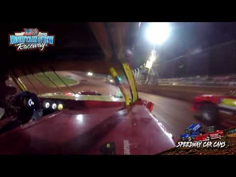#99 Bobby Davenport - Thunder - 9-11-21 Mountain View Raceway - In-Car Camera - dirt track racing video image