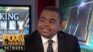 13-year-old businessman created, manages clothing line