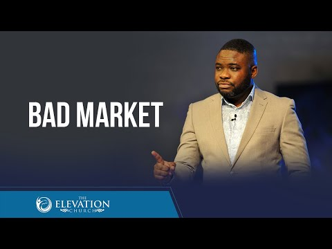 BAD MARKET (HOW TO SPOT DECEPTION WHILE SEEKING OUT A MATE)  Pastor Tunji Iyiola