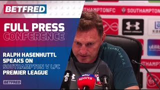 FULL Press Conference - Southampton 1-2 Liverpool - Ralph Hasenhüttl