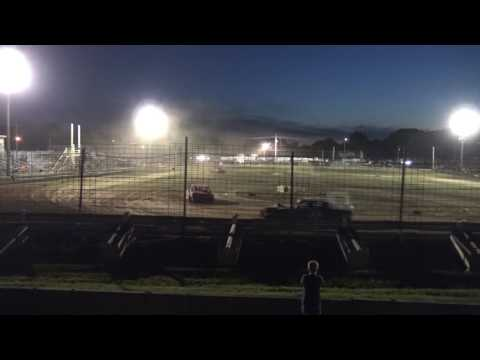 Rush County Fair | 6/27/17 | Figure 8 | Feature - dirt track racing video image