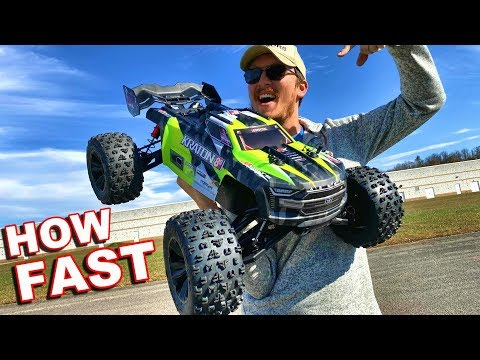 How Fast is the Arrma Kraton 8S RC Monster Truck? - TheRcSaylors - UCYWhRC3xtD_acDIZdr53huA