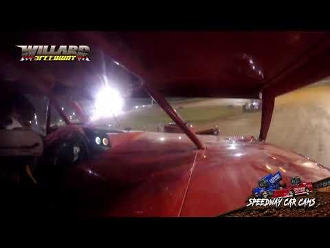 #51A Davey Akers - Sport Mod - 8-7-21 Willard Speedway - In-Car Camera - dirt track racing video image